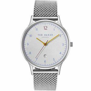 【送料無料】腕時計 テッドベーカーイーサンシルバーストーンted baker te50519007 ethans silver tone wristwatch