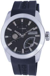 【送料無料】腕時計 ラウンドステンレススチールhaurex mens 3a501unn magister round stainless steel day retrograde date watch