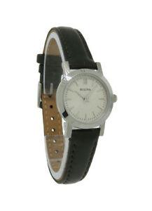 【送料無料】腕時計 #プチラウンドローマアナログウォッチbulova 96l210 women039;s petite round roman numeral taupe leather analog watch