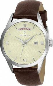 【送料無料】腕時計 #ヴィンテージクオーツステンレススチールinvicta women039;s vintage quartz stainless steel brown leather watch 25711