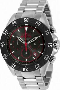【送料無料】腕時計 メンズスピードウェイラウンドアナログクロノグラフステンレススチールウォッチinvicta speedway 22395 mens round analog chronograph date stainless steel watch