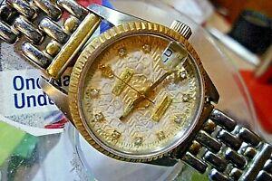 【送料無料】腕時計 レディースサンドサファイアスイスk#マチックブレスレット