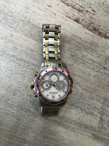【送料無料】腕時計 レディースピンクゴールドシルバーステンレススチールウォッチinvicta womens pink gold silver stainless steel watch