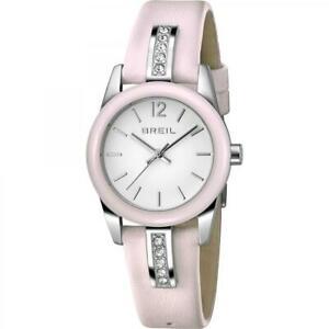 【送料無料】腕時計 リバティピンクorologio breil donna liberty tw1392 pelle rosa brillantini cristalli cerimonia