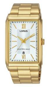 【送料無料】腕時計 ポストlorus gents rectangular watch rh906jx9 rrp 6999 our 5595 free uk post
