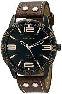 【送料無料】腕時計 プジョー#ウォッチpeugeot men039;s aviator watch