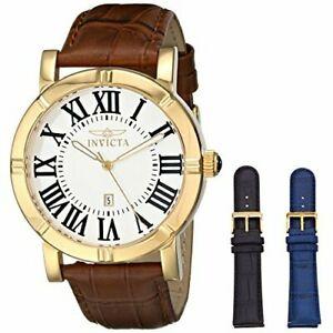 【送料無料】腕時計 レザーウォッチinvicta specialty 13971 leather watch
