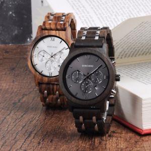 【送料無料】腕時計 ボボバードウォッチデザイナースポーツクリスマスluxury bobo bird watches high quality designer sport men wood xmas gifts for him