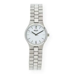 【送料無料】腕時計 チタンウォッチboccia damenuhr titan 308204