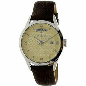 【送料無料】腕時計 ビンテージレザーウォッチinvicta vintage 25711 leather watch