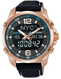 【送料無料】腕時計 パルサーワールドタイムウォッチpulsar gents world time watch pz4006x1