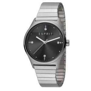 【送料無料】腕時計 レディースアナログブラックウォッチシルバーマット¥