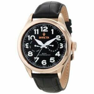 【送料無料】腕時計 ビンテージレザーウォッチinvicta vintage 11742 leather watch
