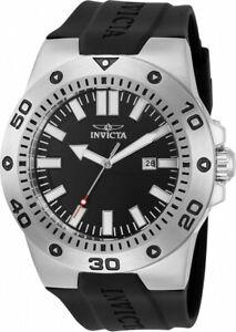 【送料無料】腕時計 メンズプロダイバークォーツステンレススチールブラックシリコンウォッチ