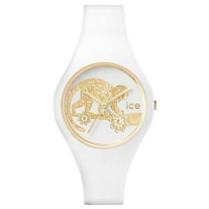 【送料無料】腕時計 シリコンストラップミハエルウォッチicewatch 001473 icechinese small white silicone strap watch rrp 6995