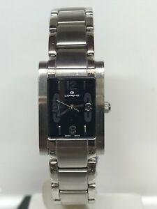 【送料無料】腕時計 orologio lorenz swiss made lady 28x19 mm nero scontatissimo nuovo