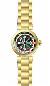 【送料無料】腕時計 ステンレススチールゴールドトーンウォッチinvicta womens specialty quartz 100m stainless steel gold tone watch 28698