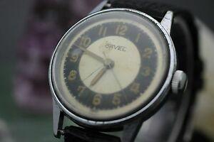 【送料無料】腕時計 ビンテージアップスイスステンレススチールメンズvintage orvel wind up swiss made 17 jewel stainless steel mens wrist watch