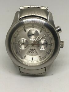 【送料無料】腕時計 ジーノフランコステンレスgino franco watch, all stainless steel