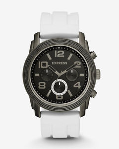 【送料無料】腕時計 エクスプレスサイズドル express white rivington oversized multifunction watch retail 138