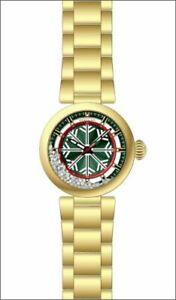 【送料無料】腕時計 ステンレススチールゴールドトーンウォッチ28698 invicta womens specialty quartz 100m stainless steel gold tone watch