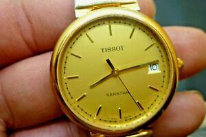 【送料無料】腕時計 メンズクオーツティソグランプリmens 34mm midsized tissot seastar 7j eta quartz n580 gp 6 14 wrist watch