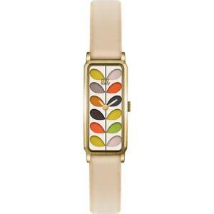 【送料無料】腕時計 レディースレザーストラップウォッチorla kiely stem ladies leather strap watch ok2162