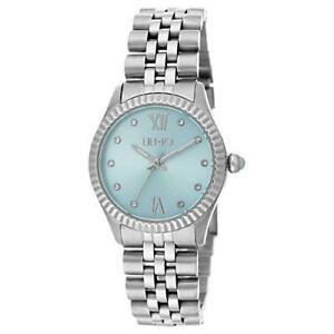 【送料無料】腕時計 リュジョカステッリロマーニliu jo orologio femminile tiny tlj1136 acciaio silver cristalli numeri romani