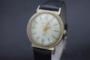 【送料無料】腕時計 オリジナルヴィンテージスポーツマンジュエルレザーメンズアップoriginal vintage elgin sportsman 17 jewel wind up leather mens wrist watch l7