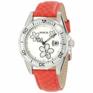 【送料無料】腕時計 レザーウォッチinvicta angel 12513 leather watch