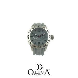 【送料無料】腕時計 a16634g nautica orologio white chrono quarzo acciaio gomma uomo