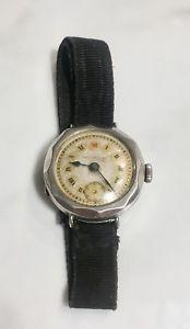 【送料無料】腕時計 トレンチジェイムズウォーカーロンドンスイスシルバーアンティークrare trench james walker london swiss 925 silver sp manual antique wrist watch