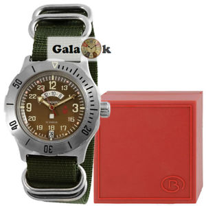 【送料無料】腕時計 ボストークボストークディスクvostok wostok uhr komandirskie k35 militr 2432 350754 mit gmt disk am pm