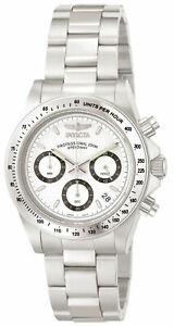 【送料無料】腕時計 invicta 9211 men039;s speedway chronograph stainless steel watch