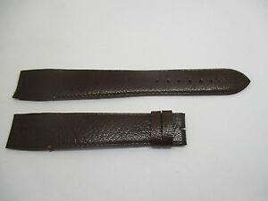 【送料無料】腕時計 bracelet pour montre a anses fixes t20 en cuir de buffle marron camille fournet