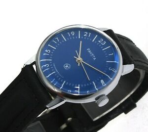 【送料無料】腕時計 ブルロシアウォッチraketa 24 ore orologio russo blu russian watch