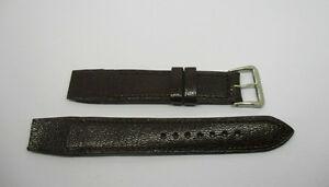 【送料無料】腕時計 ブレスレットマロンbracelet pour montres a anses fixes t16 en cuir marron avec sa boucle en acier