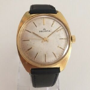 【送料無料】腕時計 ビンテージorologio watch helvetia vintage eta 2750