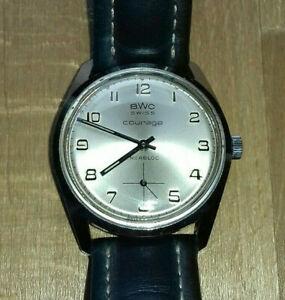 【送料無料】腕時計 ハウbwc courage hau as 1130 herren uhr gents wrist watch