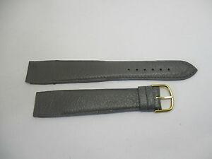 【送料無料】腕時計 ブレスレットカミーユbracelet pour montres a anses fixes t20 en cuir gris camille fournet