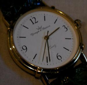 【送料無料】腕時計 ウルトラモデルancienne montre yonger bressonhcp10213 feminine,model ultra plat, annees8090