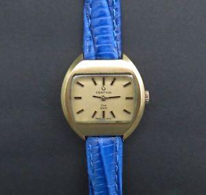 【送料無料】腕時計 ヴィンテージレディースクラブクッションquality vintage ladies certina 'club 2000' cushion shaped wrist watch c1973