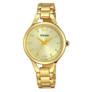 【送料無料】腕時計 パルサー#ゴールドトーンスチールブレスレットケースクオーツアナログフェーズウォッチpulsar women039;s goldtone steel bracelet amp; case quartz analog watch ph8188
