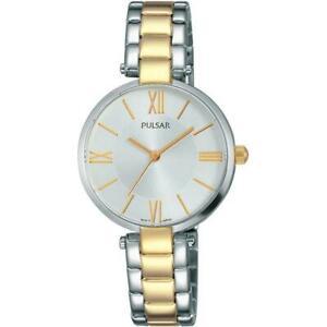 【送料無料】腕時計 パルサー#トーンスチールブレスレットスチールケースクォーツウォッチpulsar women039;s 29mm two tone steel bracelet steel case quartz watch ph8240