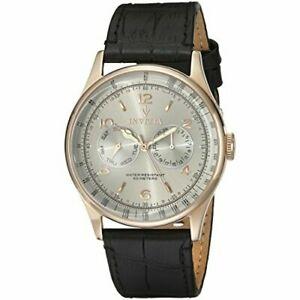 【送料無料】腕時計 ヴィンテージレザーウォッチinvicta vintage 6753 leather watch