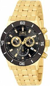 腕時計 メンズゴールドステンレススチールスイスクロノグラフウォッチinvicta mens specialty 0392 gold stainlesssteel swiss chronograph watch