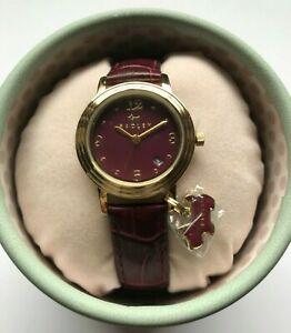 【送料無料】腕時計 ボックスradley ladies red leather wrist watch in a gift box bnwt, rrp 11500