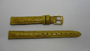 【送料無料】腕時計 ブレスレットクロコダイルメーカbracelet montre en crocodile jaune de marque morellato t12 mm