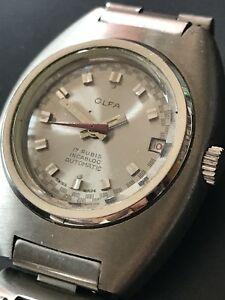【送料無料】腕時計 ビンテージレディウォッチ#olfa automatic incabloc 17j vintage lady watch, nos 2
