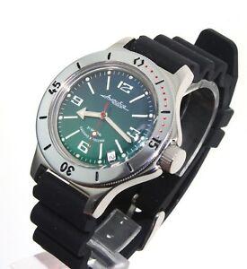 【送料無料】腕時計 ヴォストークダイバーウォッチvostok amphibia diver watch orologio russo 120848